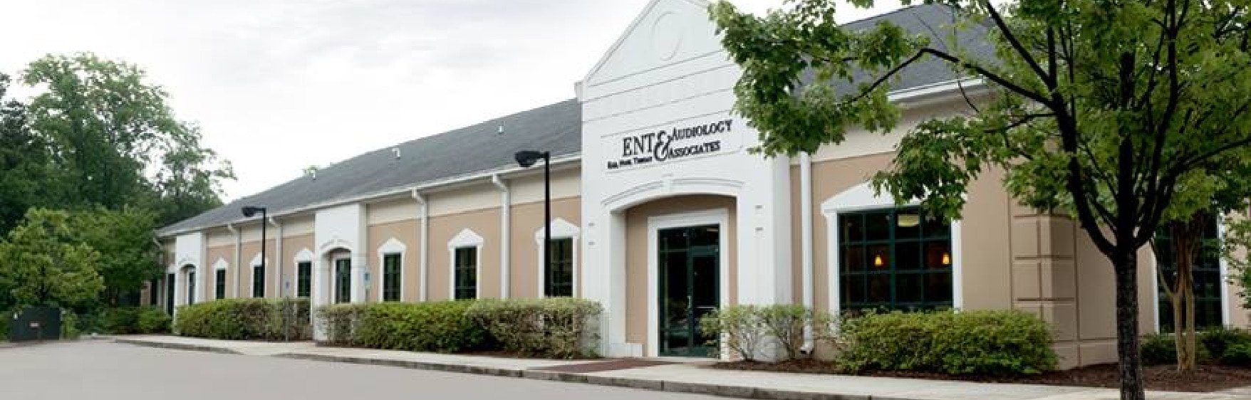 ENT & Audiology Associates building located in Raleigh NC