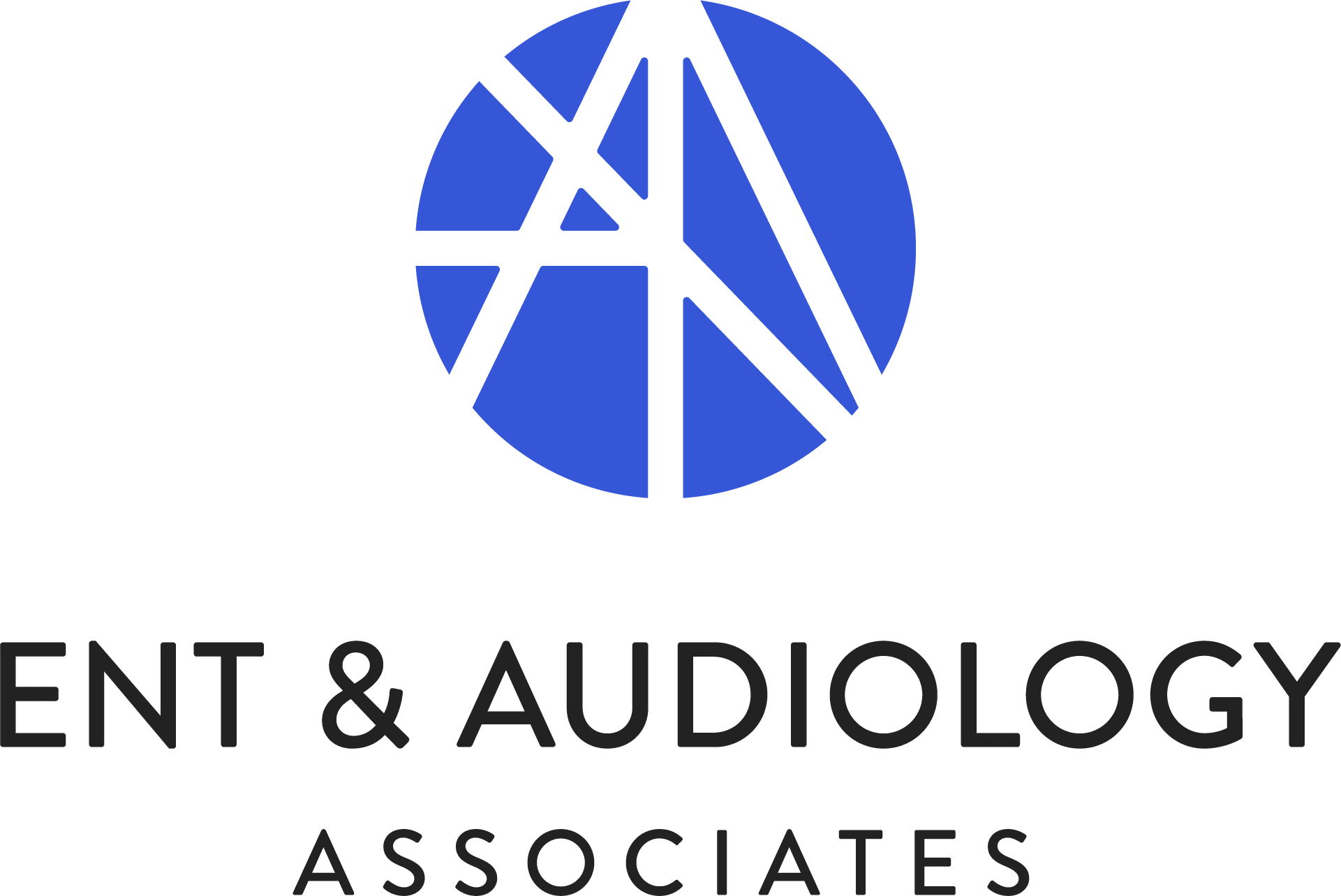 ENT & Audiology logo stacked